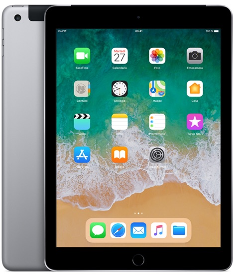 Offerta Apple iPad 9.7 32gb cellular 6a gen su TrovaUsati.it