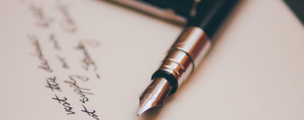 fueller stift schreiben tinte