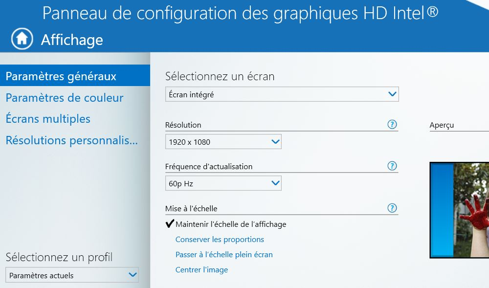 Windows 10 probl me r solution d cran appinov for Affichage fenetre miniature windows 7