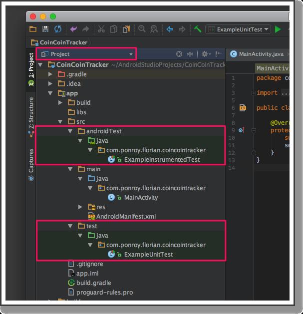 Brancher l'application Java