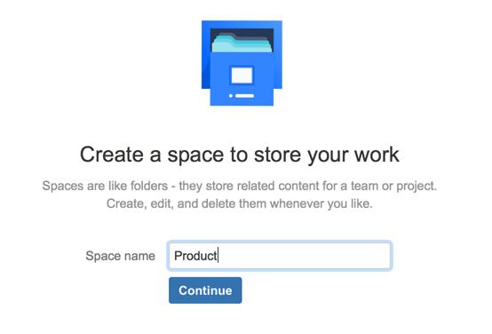 Create a space