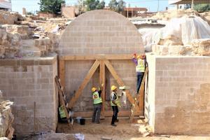 20 Palestininian cultural heritage in the Gaza Strip c Premiere Urgence Internationale