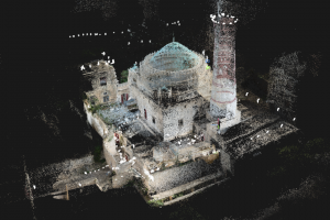 34 Documenting Yemeni built heritage at risk Queen Arwa Mosque Jibla 3 D reconstruction c CEFAS