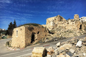 5 kafr aqab ruins adjacent to the main road