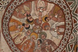 Abuna Yemata s ceiling