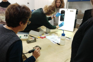 Conservation of underwater finds workshop
