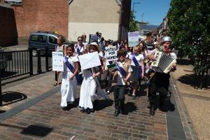 Heritage Schools 1 The Hall School Suffragettes