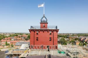 Shrewsbury Flaxmill 1 Restored Jubilee Tower