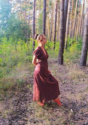 Теперь это моё любимое платье