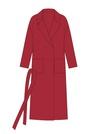 """Комплект """"Красный"""" для пальто Триш"""