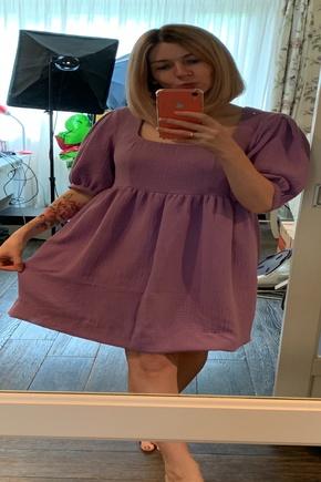 Платье по выкройке блузы