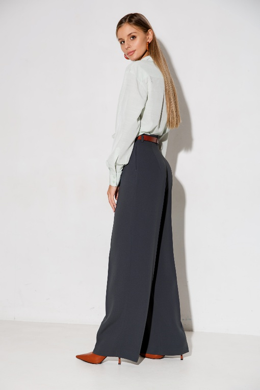 МК по пошиву прямых объемных брюк Джес