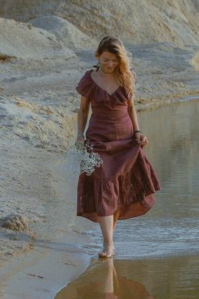 платье сшилось легко. модель села без правок рост 1 размер 38