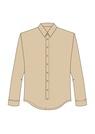 """Комплект """"Бежевый"""" (сорочечная) для рубашки Кевин"""