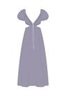 """Комплект """"Фиолетовый"""" (экохлопок) для платья Уна"""