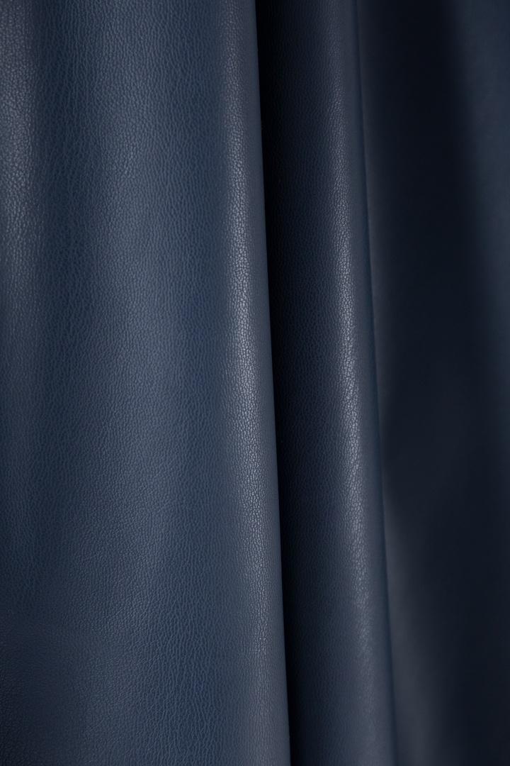 Экокожа, тёмно-синий