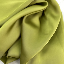 Искуственный шелк, ярко-зеленый