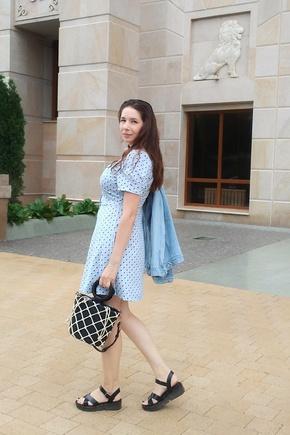 Не думала, что такое, на первый взгляд, сложное платье, будет легко шить я даже у новичка