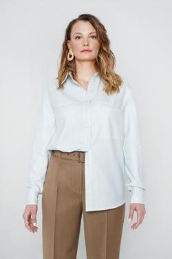 Блуза прямого силуэта Стефани