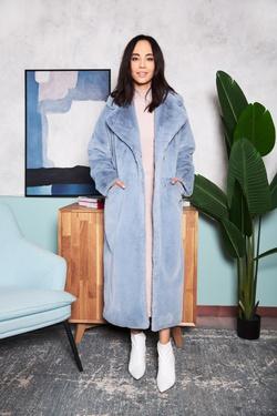 Меховое пальто Лиа