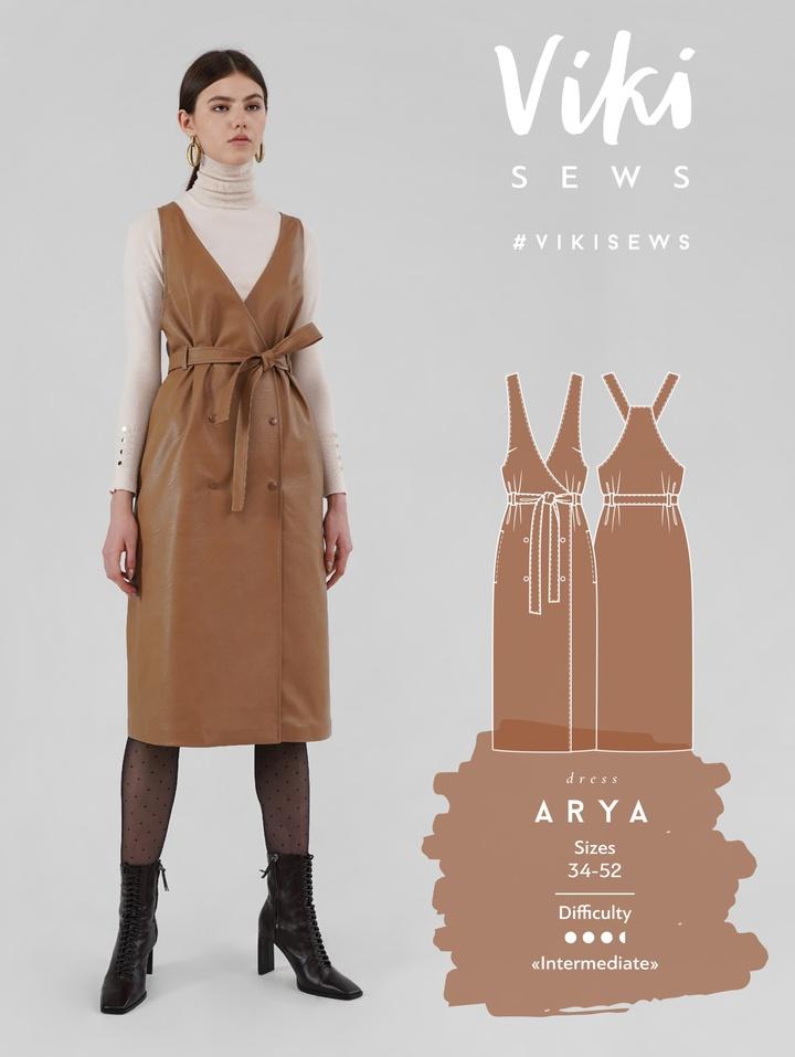 Arya Pinafore Dress