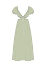 """Комплект """"Зелёный"""" (сорочечная) для платья Уна"""
