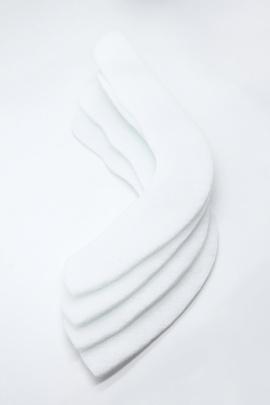 Подокатник, белый