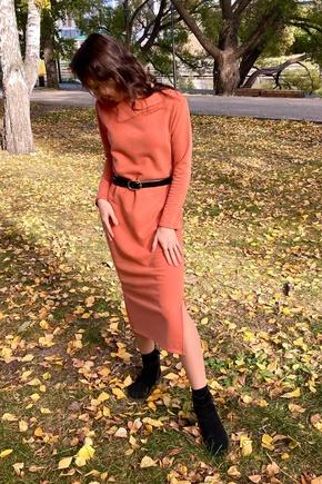Уютное платье на осень