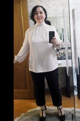 Блуза Луиза.                                 cover of user feedbackЭльнара