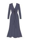 """Комплект """"Тёмно - синий"""" (шёлк) для платья Эстель"""