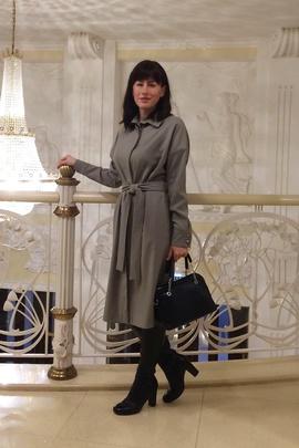 Платье-рубашка Адель.                                 cover of user feedbackИнна Русакова