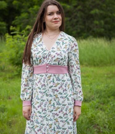 Очень женственное платье