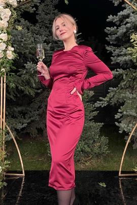 Платье Асель.                                 cover of user feedbackПользователь 76131