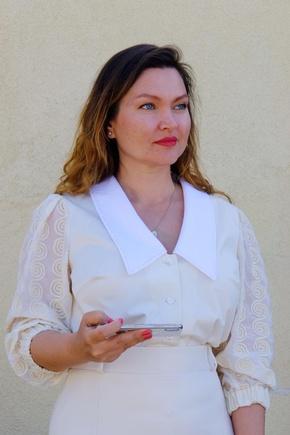 Блузка по выкройке платья