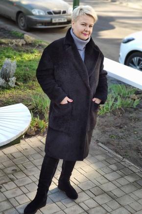 Мое зимнее пальто из альпака по Вашей выкройке получилось просто замечательное!Благодарю за выкройку;))