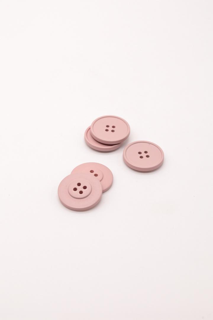 Пуговицы, пыльный розовый