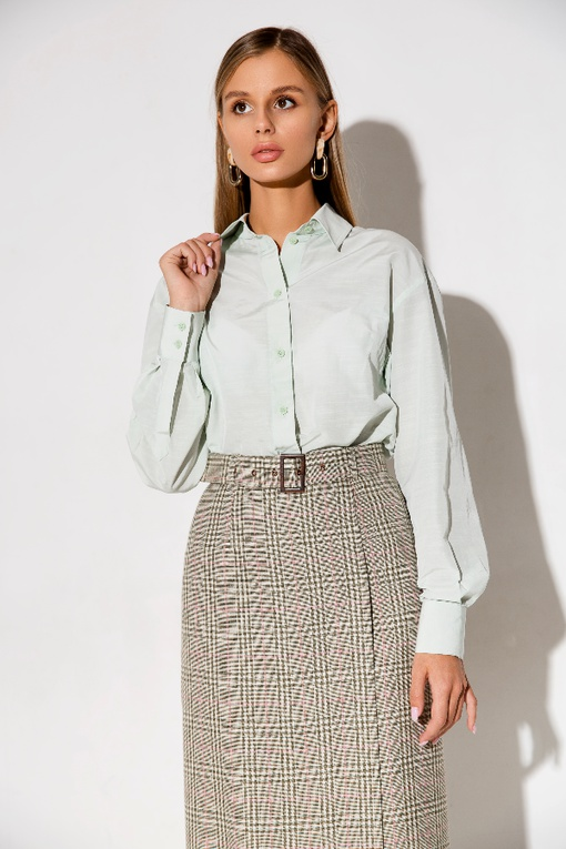 МК по пошиву прямой юбки с отлетной деталью Нина
