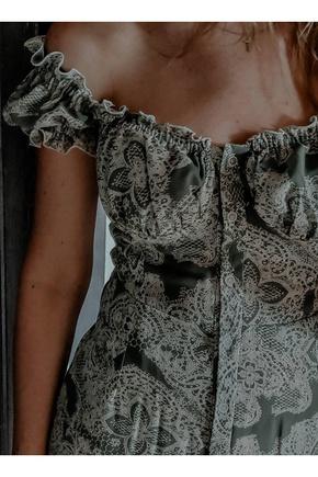 Воздушное платье из шифона