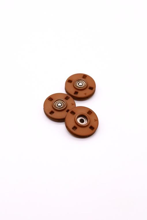 Кнопки, коричневый