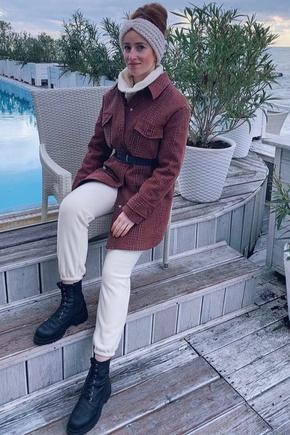 Любимое пальто из жаккарда