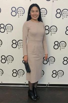 Платье Нонна.                                 cover of user feedbackBuryadwoman