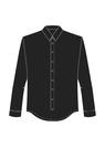 """Комплект """"Чёрный"""" (хлопок) для рубашки Кевин"""