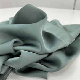 Искуственный шелк, серо-зеленый