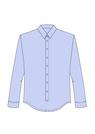 """Комплект """"Голубой"""" (хлопок) для рубашки Кевин"""