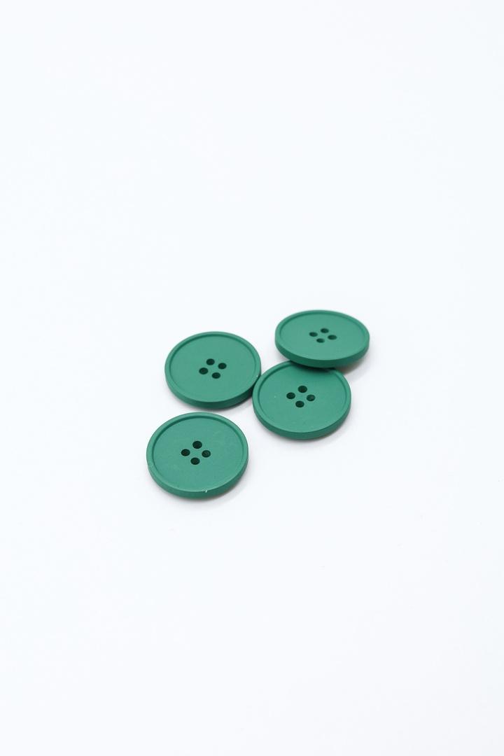 Пуговицы, тёмно-зелёный