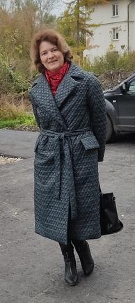 Удачное, актуальное пальто
