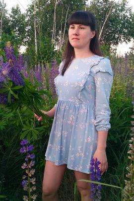 Платье Вики.                                 cover of user feedbackПользователь 41436