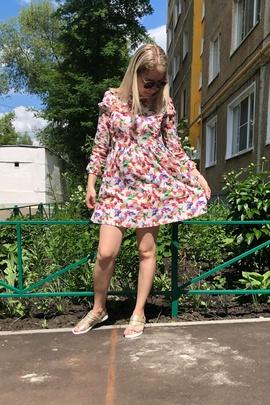 Платье Вики.                                 cover of user feedbackНастя Т.