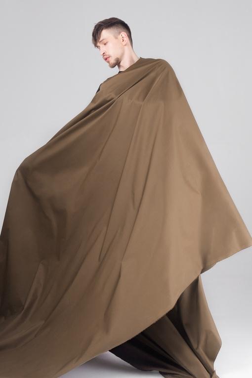 Плащевая, темно-коричневый