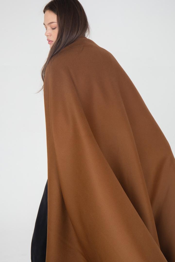 Пальтовая, темный верблюд (шерсть + кашемир)